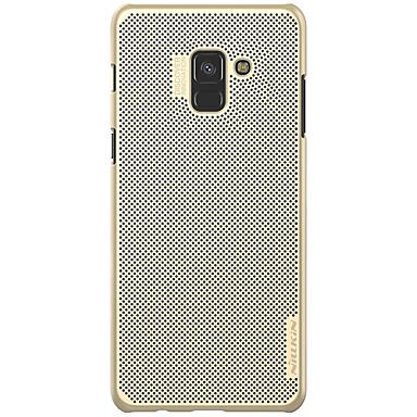 رخيصةأون حافظات / جرابات هواتف جالكسي A-غطاء من أجل Samsung Galaxy A8 2018 / A8+ 2018 ضد الصدمات / نحيف جداً / مثلج غطاء خلفي لون سادة قاسي الكمبيوتر الشخصي
