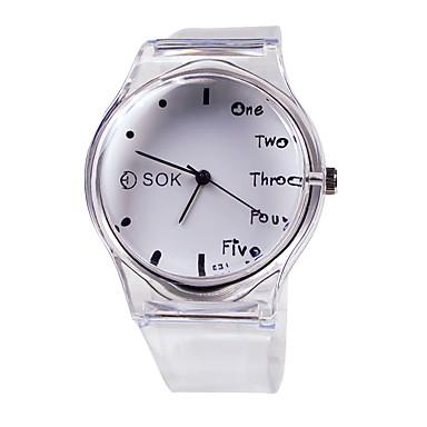 Dámské Módní hodinky japonština Křemenný Pryž Bílá 30 m Hodinky na běžné  nošení Analogové dámy Elegantní Jeden rok Životnost baterie 2223910 2019 –  €3.99 76598b80b5