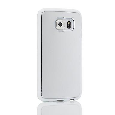 Недорогие Чехлы и кейсы для Galaxy S-Кейс для Назначение SSamsung Galaxy S8 S7 Защита от удара Кейс на заднюю панель Сплошной цвет Мягкий ТПУ для S8 Plus S8 S7 edge S7 S6