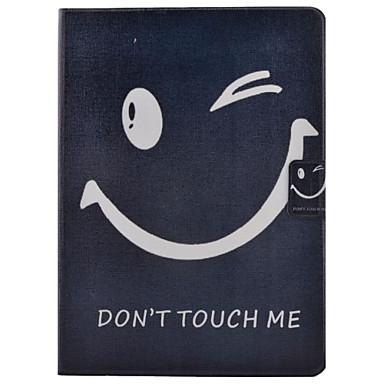 voordelige Samsung Tab-serie hoesjes / covers-hoesje Voor Samsung Galaxy Tab 4 10.1 Kaarthouder / met standaard / Flip Volledig hoesje Woord / tekst Hard PU-nahka