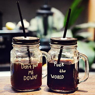 رخيصةأون كأس الحمر-زجاج عضوي ميسون جرة تهاني DRINKWARE 2