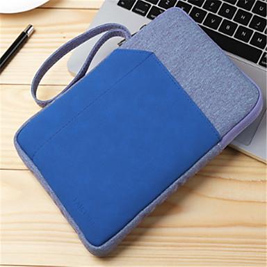 رخيصةأون أغطية أيباد-غطاء من أجل Apple محفظة / ضد الصدمات حقيبة لون سادة قاسي منسوجات / جلد PU