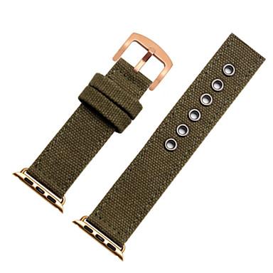 voordelige Smartwatch-accessoires-Horlogeband voor Apple Watch Series 5/4/3/2/1 Apple Moderne gesp Nylon Polsband