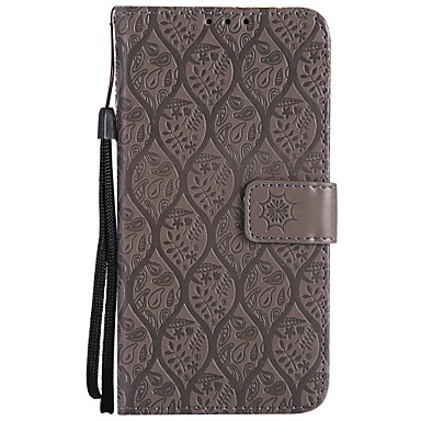 Недорогие Чехлы и кейсы для Sony-Кейс для Назначение Sony Z4 Mini / Z5 Mini / Sony Xperia XZ Кошелек / Бумажник для карт / со стендом Чехол Однотонный Твердый Кожа PU