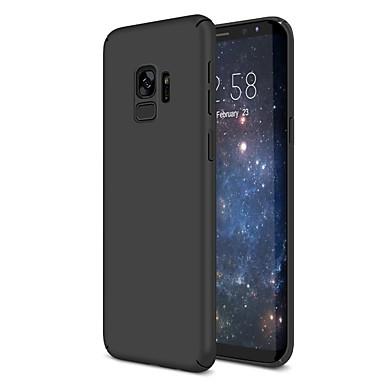 Case Kompatibilitás Samsung Galaxy S9 / S9 Plus / S8 Plus Ultra-vékeny Fekete tok Egyszínű Kemény Műanyag