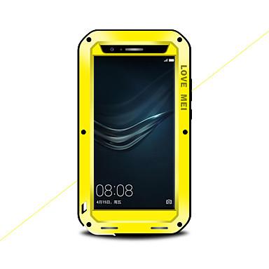 olcso Huawei tokok-Case Kompatibilitás Huawei Huawei P9 Plus / Huawei P9 Víz / Dirt / ütésálló Héjtok Tömör szín Kemény Fém