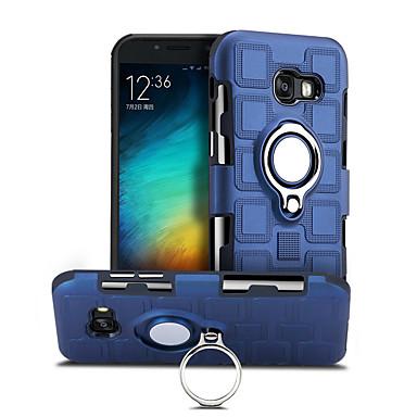 رخيصةأون حافظات / جرابات هواتف جالكسي A-غطاء من أجل Samsung Galaxy A5 (2017) دوران360ْ / ضد الصدمات / حامل الخاتم غطاء خلفي لون سادة قاسي الكمبيوتر الشخصي