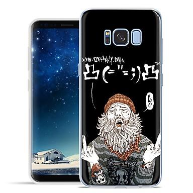 voordelige Galaxy S-serie hoesjes / covers-hoesje Voor Samsung Galaxy S8 Plus / S8 / S7 Active Patroon Achterkant Cartoon Zacht TPU