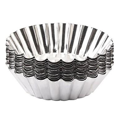 رخيصةأون أدوات الفرن-12p جيم الالومنيوم المطبخ الإبداعية أداة اصنع بنفسك متعددة الوظائف لبيض غير منتظم الأدوات المخصصة أدوات خبز