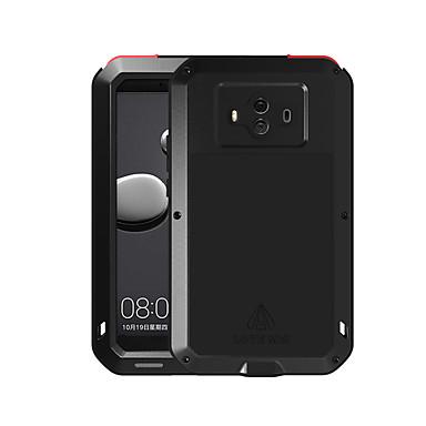 voordelige Huawei Mate hoesjes / covers-hoesje Voor Huawei Mate 10 Water / Dirt / Shock Proof Volledig hoesje Effen Hard Metaal