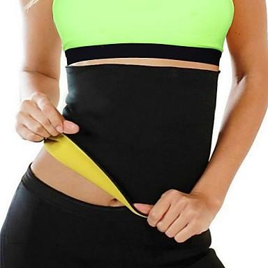 baratos Acessórios Esportivos-Faixa Lombar para Fitness Corrida Homens Mulheres Slim Protecção Respirável Elástico Compressão Vestir fácil Esportes Neoprene Lycra