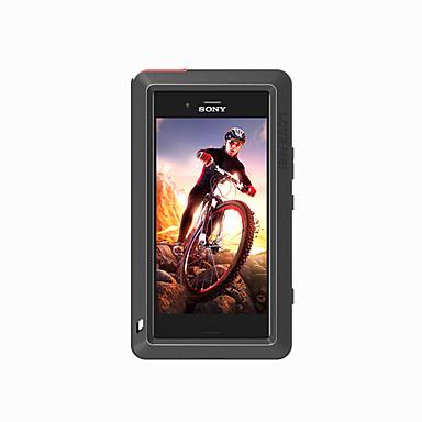 olcso Sony tokok-Case Kompatibilitás Sony Xperia XZ1 Compact Víz / Dirt / ütésálló Héjtok Tömör szín Kemény Fém