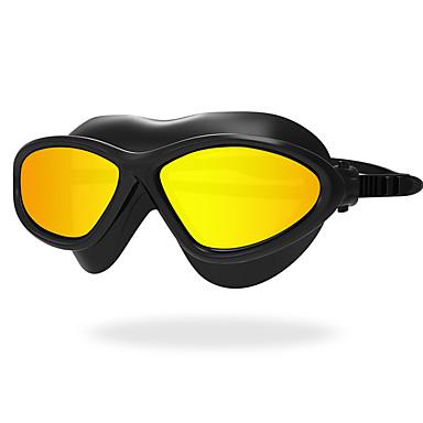 olcso Úszószemüvegek-Úszás Goggles Vízálló Páramentesítő UV-védő Karcolásálló Törhetetlen Csúszásgátló pánt Silica Gel PC Sárga Fehér Piros Zöld Világosszürke Világoskék