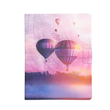 voordelige Samsung Tab-serie hoesjes / covers-hoesje Voor Samsung Galaxy Tab 4 10.1 / Tab 3 10.1 / Tab S3 9.7 Kaarthouder / Schokbestendig / met standaard Volledig hoesje Balloon Hard PU-nahka