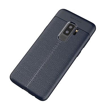 Недорогие Чехлы и кейсы для Galaxy S-Кейс для Назначение SSamsung Galaxy S9 Plus Ультратонкий Кейс на заднюю панель Сплошной цвет Мягкий ТПУ