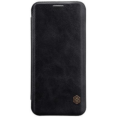 povoljno Maske/futrole za Galaxy S seriju-Θήκη Za Samsung Galaxy S9 / S9 Plus / S8 Plus Utor za kartice / Zaokret Korice Jednobojni Tvrdo PU koža