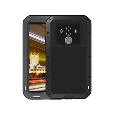 voordelige Huawei Mate hoesjes / covers-hoesje Voor Huawei Mate 10 pro Water / Dirt / Shock Proof Volledig hoesje Effen Hard Metaal