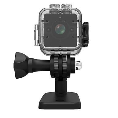 رخيصةأون كاميرات المراقبة IP-veskys® 1080p sq12 عمل مصغرة dv الكاميرا مسجل الرياضة في الهواء الطلق dv / 30m للماء قذيفة كاميرا صغيرة / 155wide زاوية / للرؤية الليلية