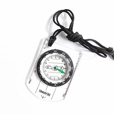 Compas Busolă Mărime Mică Măsură Plastic Alpinism Exerciții exterior Πεζοπορία 1 pcs Transparent