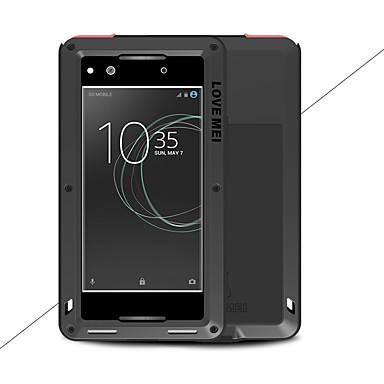 voordelige Hoesjes / covers voor Sony-hoesje Voor Sony Sony Xperia XA1 Ultra / Sony Xperia XA1 Water / Dirt / Shock Proof Volledig hoesje Effen Hard Metaal