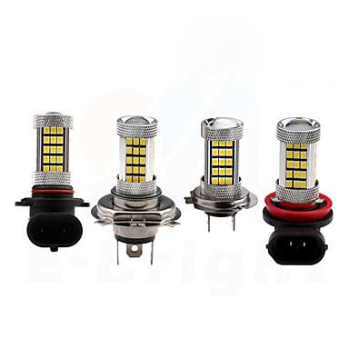 Недорогие Противотуманные фары-h8 / 9006/9005 автомобильные лампочки 35w smd 3528 3200lm 66 светодиодные шарики противотуманные фары для универсальных всех моделей все годы белый красный желтый синий цвет выборочный