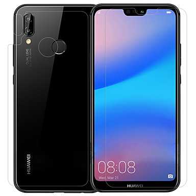 povoljno Zaštitne folije za Huawei-HuaweiScreen ProtectorHuawei P20 lite Visoka rezolucija (HD) Zaštitnik prednje i stražnjeg leća i fotoaparata 1 kom. Kaljeno staklo