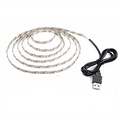رخيصةأون شرائط ضوء مرنة LED-Zdm 1 قطعة ماء 1 متر 60x2835 smd 10 ملليمتر المصابيح usb بالطاقة مرنة أدى ضوء شرائط الدافئة الأبيض الباردة الأبيض الزخرفية 5 فولت أضواء التلفزيون خلفية