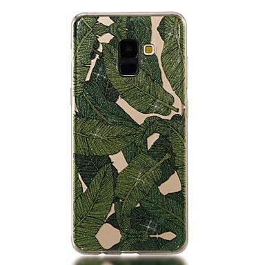 voordelige Galaxy A-serie hoesjes / covers-hoesje Voor Samsung Galaxy A3 (2017) / A5 (2017) / A8 2018 IMD / Patroon Achterkant Boom / Glitterglans Zacht TPU