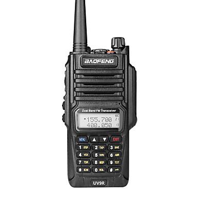 BAOFENG UV-9R Handheld IP7 Waterproof Dual Band Walkie Talkie Two Way Radio Intercom Wide Range Compatible Frequency Handheld Dual Band