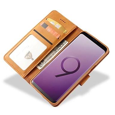 Θήκη Za Samsung Galaxy S9 / S9 Plus / S8 Plus Novčanik / Utor za kartice / Otporno na trešnju Korice Jednobojni Tvrdo prava koža