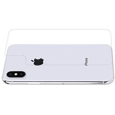 voordelige iPhone screenprotectors-nillkin screen protector apple voor iphone x gehard glas 1 stuk back protector anti vingerafdruk krasbestendig explosieveilige 9h hardheid
