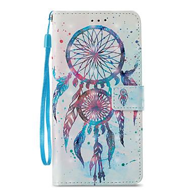 povoljno Maske za mobitele-Θήκη Za Samsung Galaxy S9 / S9 Plus / S8 Plus Novčanik / Utor za kartice / sa stalkom Korice Hvatač snova Tvrdo PU koža