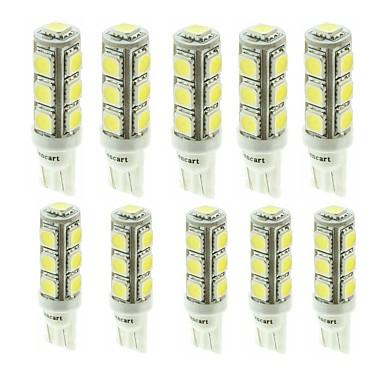 Недорогие Фары для мотоциклов-SENCART G4 / T10 / BA9S Мотоцикл / Автомобиль Лампы 2.5W SMD 5050 180-260lm 13 Светодиодная лампа Лампа поворотного сигнала For