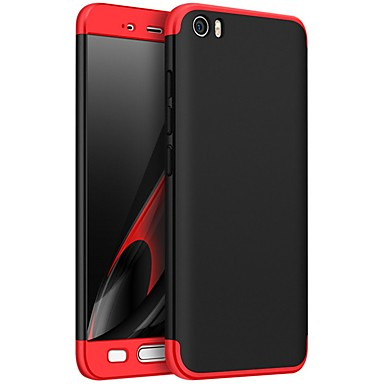 cheap Xiaomi Case-Case For Xiaomi Xiaomi Mi 5X / Xiaomi Mi 5s / Xiaomi Mi 5 Shockproof / Ultra-thin Full Body Cases Solid Colored Hard PC