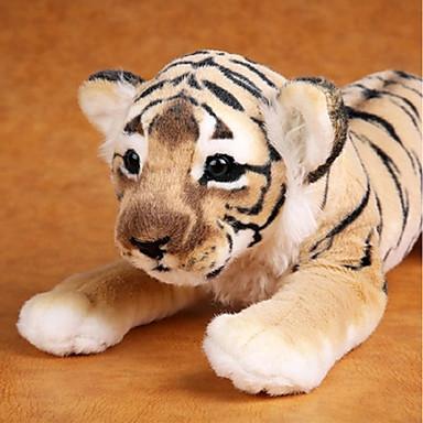 olcso Plüssjátékok-Tigris Punjene i plišane igračke Szeretetreméltő kellemes Pamut Lány Játékok Ajándék 1 pcs