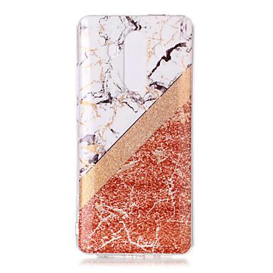 voordelige Huawei Mate hoesjes / covers-hoesje Voor Huawei Mate 10 pro / Mate 10 lite IMD / Patroon / Glitterglans Achterkant Glitterglans / Marmer Zacht TPU