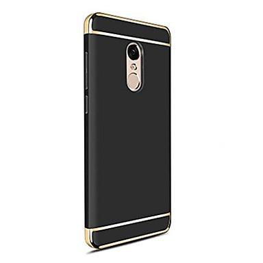 Недорогие Чехлы и кейсы для Xiaomi-Кейс для Назначение Xiaomi Mi 6 Plus / Xiaomi Mi 6 / Xiaomi Mi 5X Покрытие Кейс на заднюю панель Однотонный Твердый ПК / Xiaomi Mi 5s