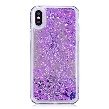 huge selection of 4c78d d11c4 [$7.99] Case For Apple iPhone X / iPhone 8 Plus Flowing Liquid / Mirror /  Glitter Shine Back Cover Glitter Shine Hard PC for iPhone X / iPhone 8 Plus  ...