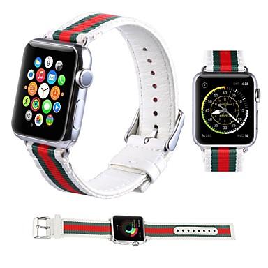nuovo stile 49c6f ea20a [€19.99] Cinturino per orologio per Apple Watch Series 5/4/3/2/1 Apple  Cinturino sportivo Nylon Custodia con cinturino a strappo
