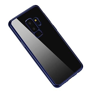 povoljno Samsung oprema-Θήκη Za Samsung Galaxy S9 / S9 Plus Pozlata Stražnja maska Jednobojni Mekano TPU
