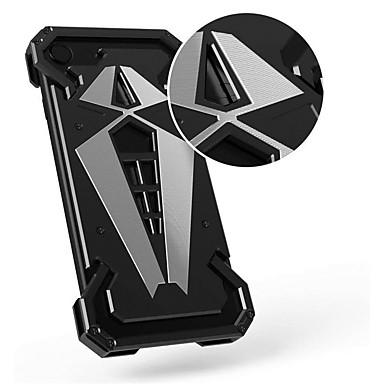 Недорогие Кейсы для iPhone 6-Кейс для Назначение Apple iPhone X / iPhone 8 Pluss / iPhone 8 Защита от удара Кейс на заднюю панель броня Твердый Металл