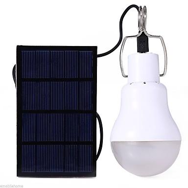 olcso Csináld magad alkatrészek és szerszámok-S-1200 LED izzók 110 lm LED LED 12 Sugárzók akkuval Napenergia Energiatakarékos Kempingezés / Túrázás / Barlangászat Mindennapokra Fehér