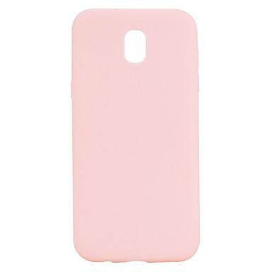 رخيصةأون حافظات / جرابات هواتف جالكسي J-غطاء من أجل Samsung Galaxy J7 (2017) / J7 (2016) / J5 (2017) مثلج غطاء خلفي لون سادة ناعم TPU