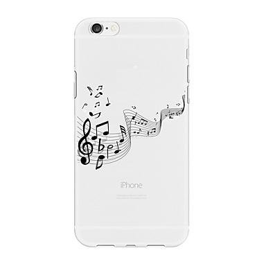 Недорогие Чехлы и чехлы-Кейс для Назначение Apple iPhone X / iPhone 8 Pluss / iPhone 8 С узором Кейс на заднюю панель Мультипликация Мягкий ТПУ