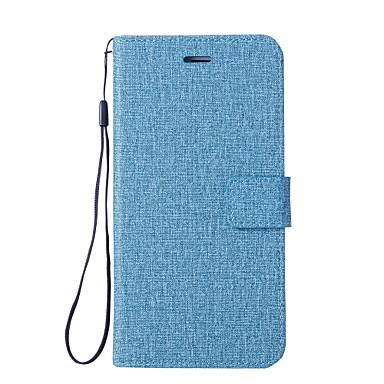 رخيصةأون Xiaomi أغطية / كفرات-غطاء من أجل Xiaomi Xiaomi Mi Note 2 / Mi 6 Plus / Xiaomi Mi 6 محفظة / حامل البطاقات / مع حامل غطاء كامل للجسم لون سادة قاسي جلد PU