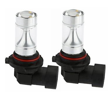 Недорогие Фары для мотоциклов-SENCART 2pcs 9005 Мотоцикл / Автомобиль Лампы 30W Интегрированный LED 1200lm 6 Светодиодные лампы Внешние осветительные приборы For