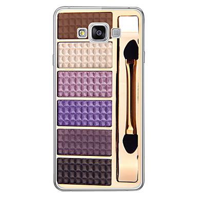 رخيصةأون حافظات / جرابات هواتف جالكسي A-غطاء من أجل Samsung Galaxy A3 (2017) / A5 (2017) / A7 (2017) نموذج غطاء خلفي كارتون ناعم TPU