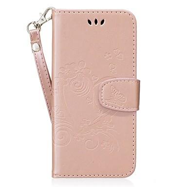 Недорогие Чехлы и кейсы для Galaxy S6 Edge-SSamsung GalaxyCaseS8 Plus Чехол Кошелек Кожа PU / Бумажник для карт