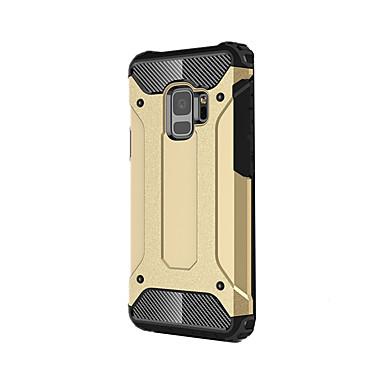 Недорогие Чехлы и кейсы для Galaxy S-Кейс для Назначение SSamsung Galaxy S9 / S9 Plus / S8 Plus броня Кейс на заднюю панель броня Твердый Металл
