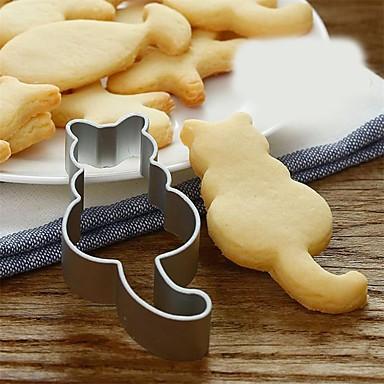 رخيصةأون أدوات الفرن-1PC الفولاذ المقاوم للصدأ المطبخ الإبداعية أداة بسكويت لأواني الطبخ أدوات المعكرونة أدوات خبز